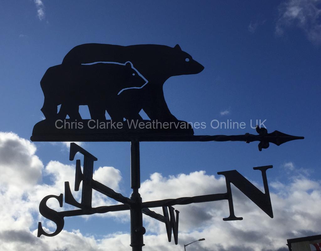 Bears-Weathervane