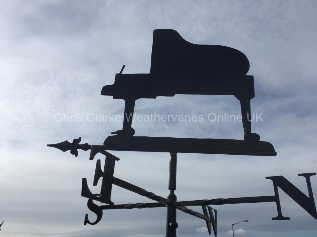 Piano-Weathervane