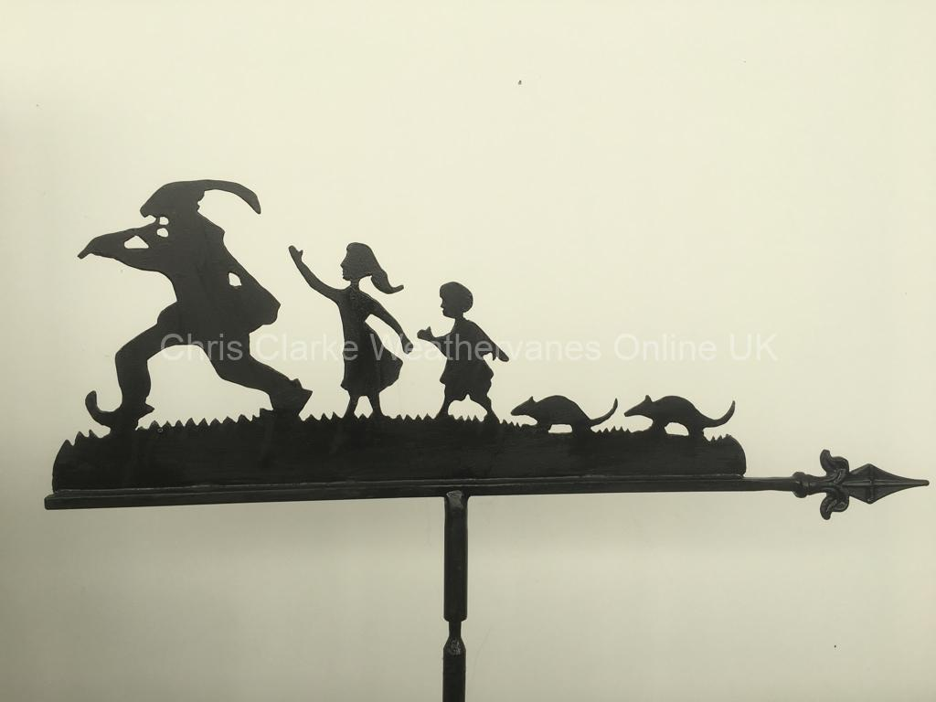 Pied-Piper-and-Family-Weathervane