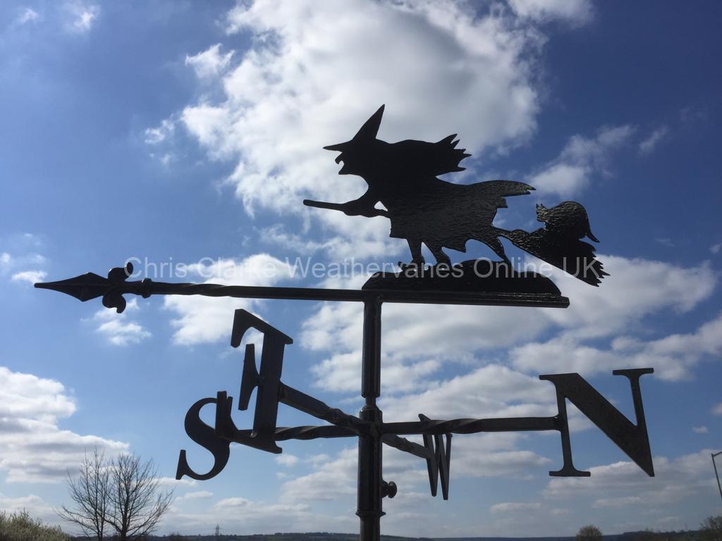 Witch-Weathervane