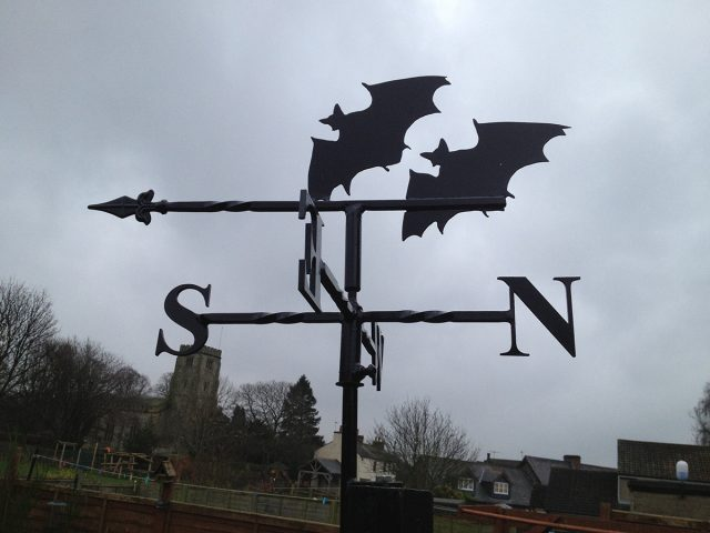 Bats Weathervane