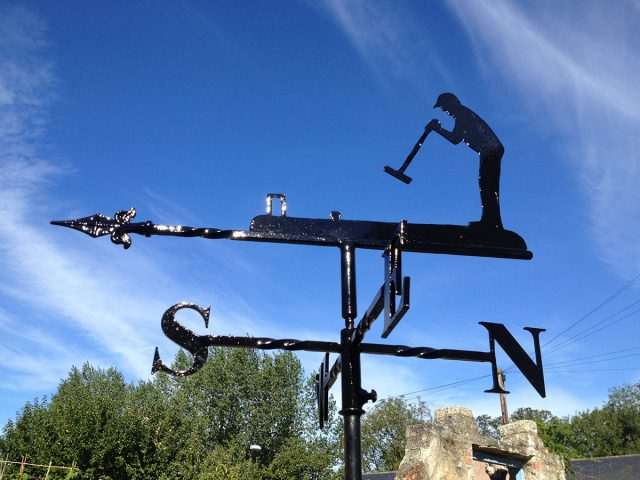 Croquet Player Weathervane