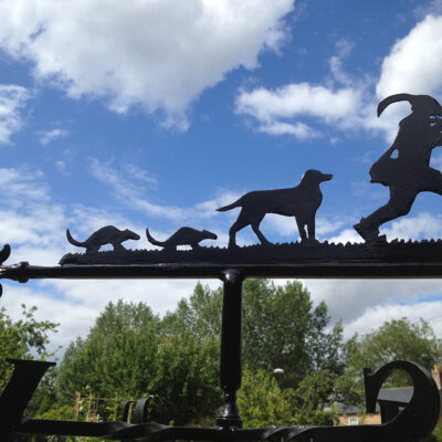 Pied Piper Weathervane