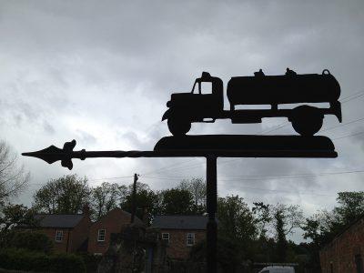 Vintage Lorry Weathervane