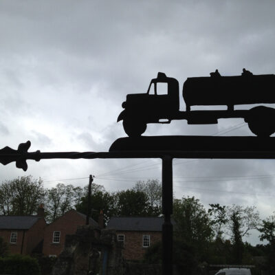 Vintage Lorry Weathervane