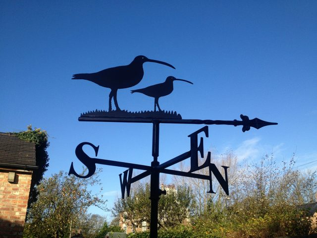 Two Curlews Weathervane