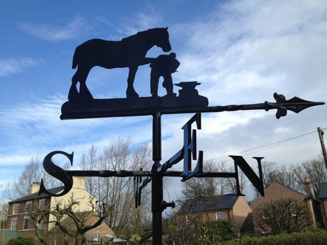 Blacksmith Weathervane