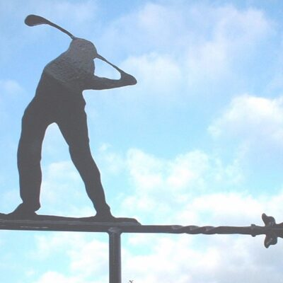 Golfer Weathervane