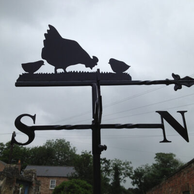 Hen & Chick Weathervane