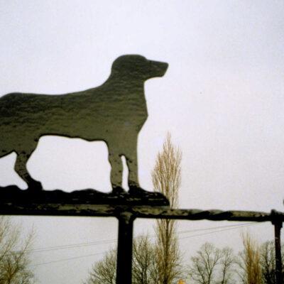 Labrador Weathervane