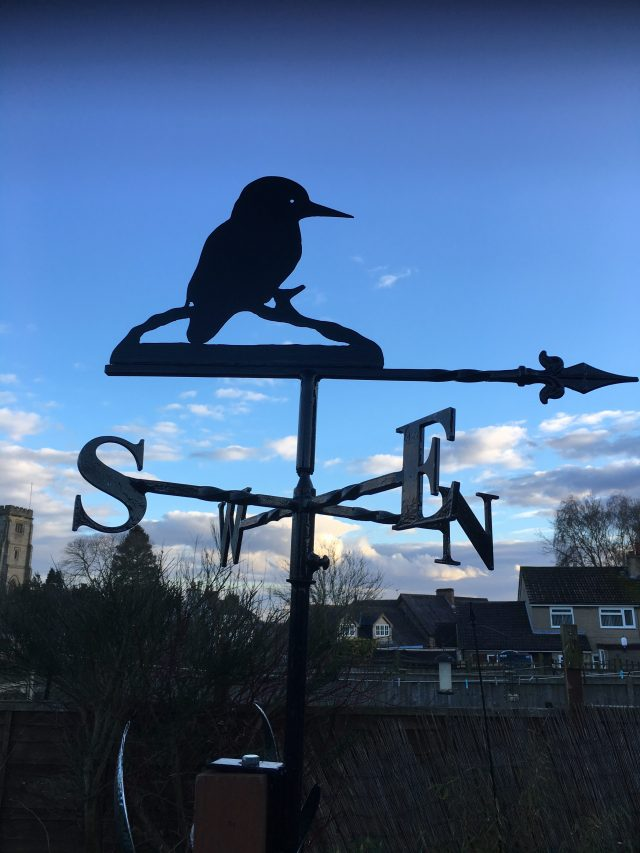 Kingfisher Weathervane