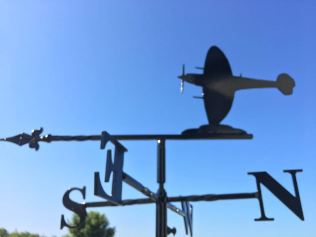 Spitfire weathervane