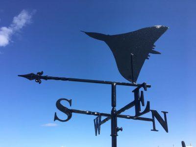 Vulcan weathervane